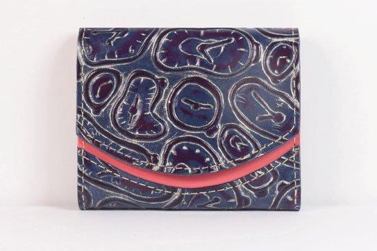 ミニ財布  世界でひとつだけシリーズ  小さいふ「ペケーニョ ダリ 時計」#54