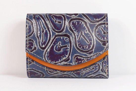 ミニ財布  世界でひとつだけシリーズ  小さいふ「ペケーニョ ダリ 時計」#57