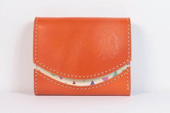 ミニ財布  今日の小さいふシリーズ「ペケーニョ 橙< A >21年5月1日」