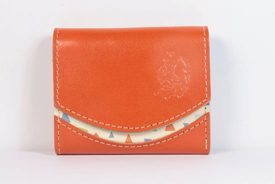 ミニ財布  今日の小さいふシリーズ「ペケーニョ 橙< B >21年5月1日」