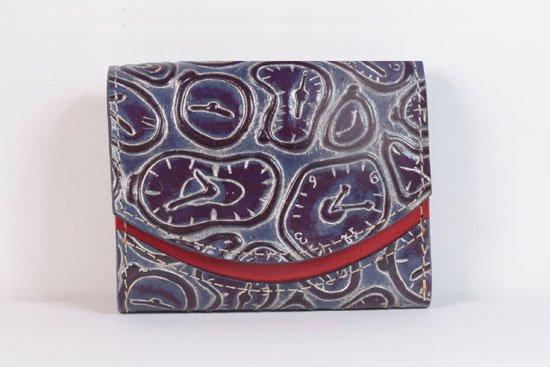 ミニ財布  今日の小さいふシリーズ「ペケーニョ ネモフィラ< A >21年5月3日」