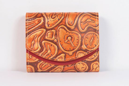 ミニ財布  今日の小さいふシリーズ「ペケーニョ テラコッタクロノグラフ< B >21年5月8日」