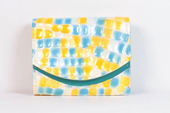 ミニ財布  今日の小さいふシリーズ「ペケーニョ レモンサイダー< A >21年5月5日」