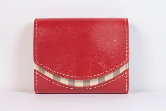 ミニ財布  今日の小さいふシリーズ「ペケーニョ cranberry< B >21年5月16日」