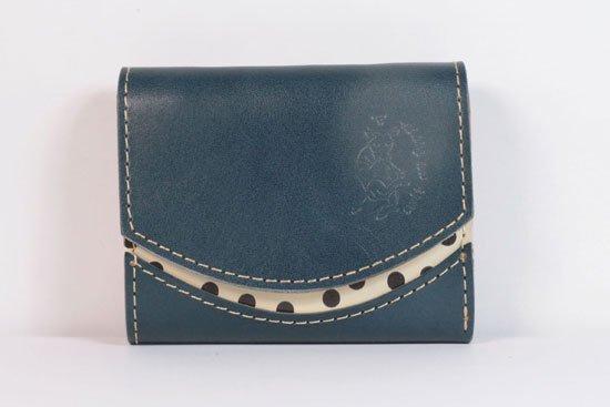 ミニ財布  今日の小さいふシリーズ「ペケーニョ blueberry< A >21年5月26日」