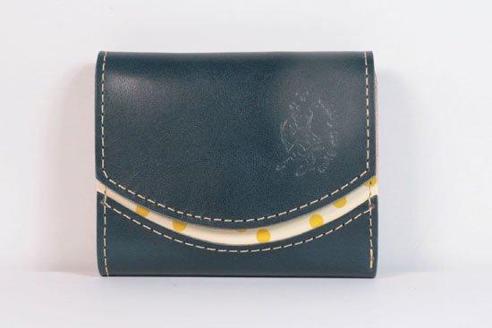 ミニ財布  今日の小さいふシリーズ「ペケーニョ blueberry< B >21年5月26日」