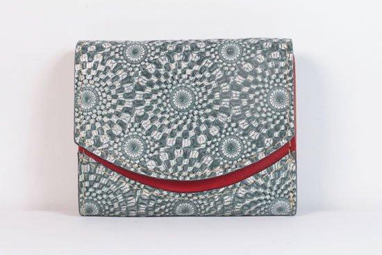 ミニ財布  今日の小さいふシリーズ「ペケーニョ fractale< A >21年5月14日」