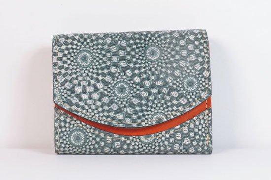 ミニ財布  今日の小さいふシリーズ「ペケーニョ fractale< B >21年5月14日」