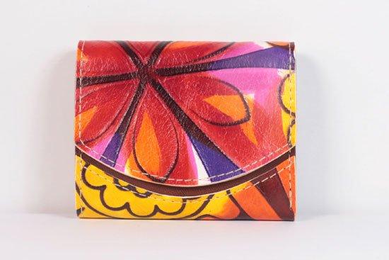 ミニ財布  今日の小さいふシリーズ「ペケーニョ 初夏の陽気< A >21年5月27日」