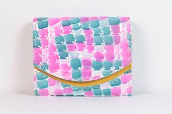 ミニ財布  今日の小さいふシリーズ「ペケーニョ オイルタイマー< A >21年5月25日」