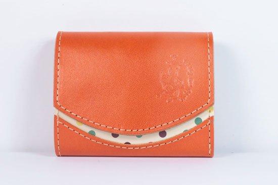 ミニ財布  今日の小さいふシリーズ「ペケーニョ equator orange< B >21年6月14日」