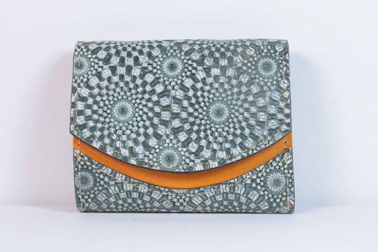 ミニ財布  今日の小さいふシリーズ「ペケーニョ ripple(リップル)< B >21年6月23日」