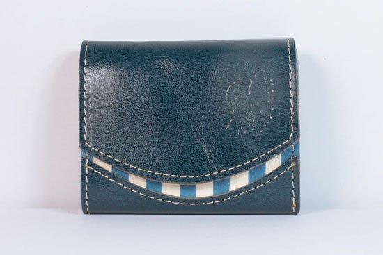 ミニ財布  今日の小さいふシリーズ「ペケーニョ マリーナの風< A >21年6月25日」