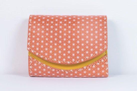 ミニ財布  今日の小さいふシリーズ「ペケーニョ スミレモ< B >21年6月18日」