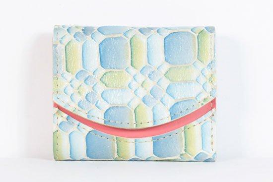 ミニ財布  今日の小さいふシリーズ「ペケーニョ 凪(なぎ)< B >21年7月3日」