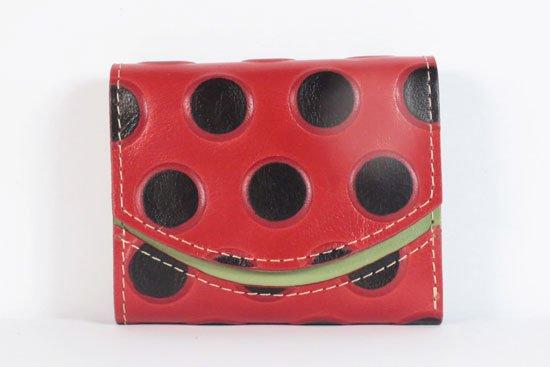 ミニ財布  今日の小さいふシリーズ「ペケーニョ 愛されてんとう< A >21年7月4日」