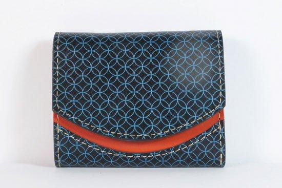 ミニ財布  今日の小さいふシリーズ「ペケーニョ 瑠璃< B >21年7月16日」