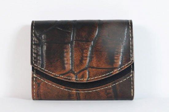 ミニ財布  今日の小さいふシリーズ「ペケーニョ 煉瓦の小道< A >21年7月26日」