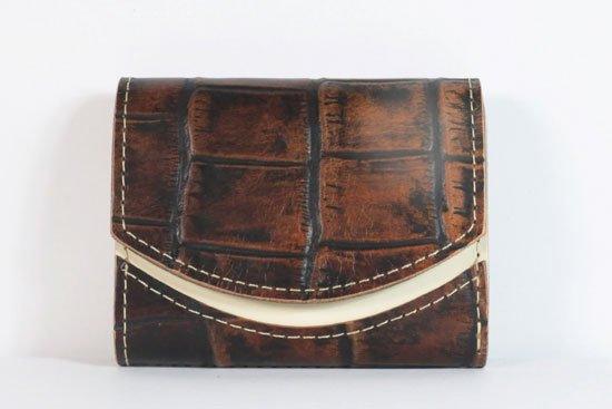 ミニ財布  今日の小さいふシリーズ「ペケーニョ 煉瓦の小道< B >21年7月26日」