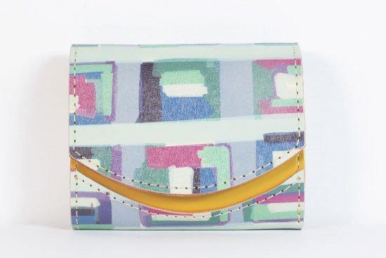 ミニ財布  今日の小さいふシリーズ「ペケーニョ 霧のブラーノ< A >21年7月28日」