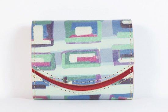 ミニ財布  今日の小さいふシリーズ「ペケーニョ 霧のブラーノ< B >21年7月28日」