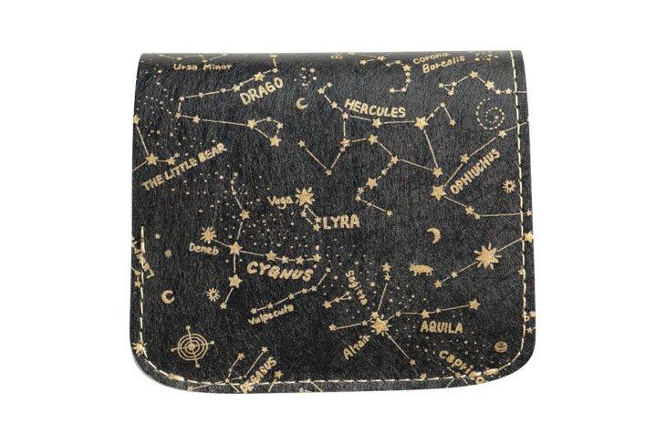 小さい財布 小さいふ。コンチャ 「AMANOGAWA」Altair  アルタイル 黒