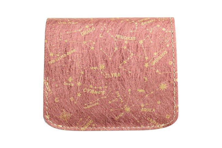 小さい財布 小さいふ。コンチャ 「AMANOGAWA」Vega ベガ ピンク
