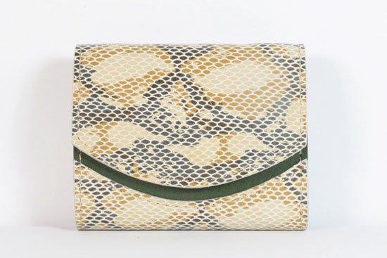 ミニ財布  今日の小さいふシリーズ「ペケーニョ Sea snake< A >21年8月9日」