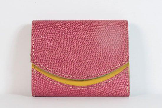 ミニ財布  今日の小さいふシリーズ「ペケーニョ パイナップルの日< A >21年8月17日」