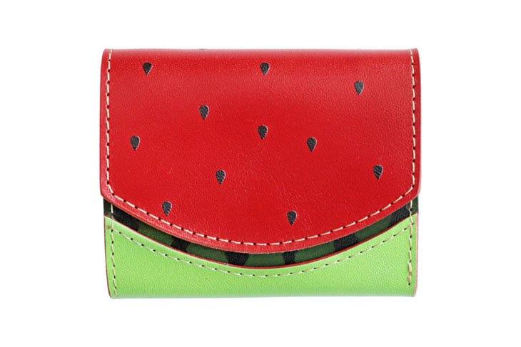 小さい財布 小さいふ。「ペケーニョ 小さいふ スイカバー」栃木レザー赤