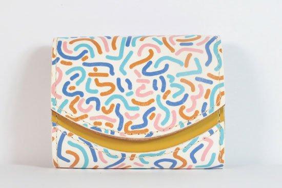 ミニ財布  今日の小さいふシリーズ「ペケーニョ 思い出の夏休み< B >21年8月31日」