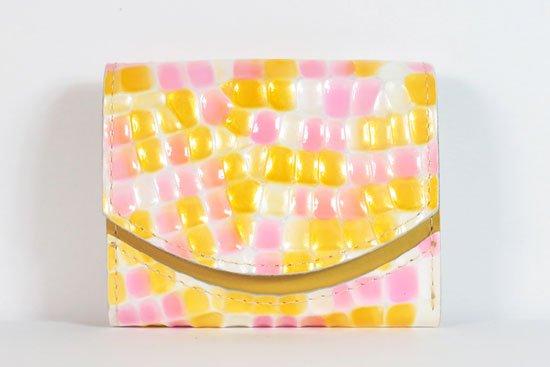 ミニ財布  今日の小さいふシリーズ「ペケーニョ ポップコーン< A >21年8月30日」