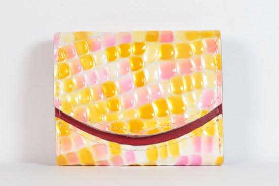 ミニ財布  今日の小さいふシリーズ「ペケーニョ ポップコーン< B >21年8月30日」