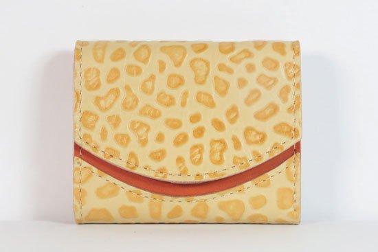 ミニ財布  今日の小さいふシリーズ「ペケーニョ スクランブルエッグ< A >21年8月26日」