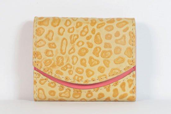 ミニ財布  今日の小さいふシリーズ「ペケーニョ スクランブルエッグ< B >21年8月26日」