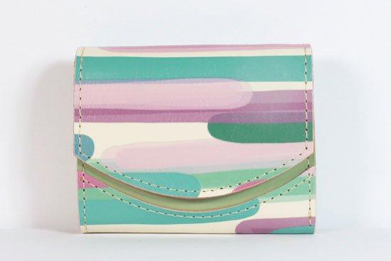 ミニ財布  今日の小さいふシリーズ「ペケーニョ 彩雲< B >21年9月3日」