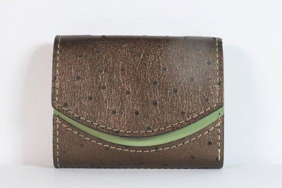 ミニ財布  今日の小さいふシリーズ「ペケーニョ クロ< A >21年9月6日」