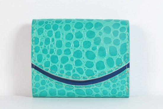 ミニ財布  今日の小さいふシリーズ「ペケーニョ 水面フレーバー< A >21年9月10日」