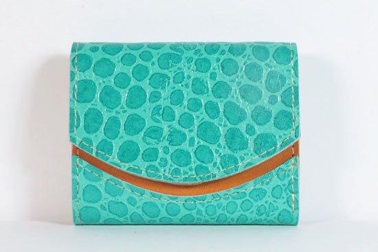 ミニ財布  今日の小さいふシリーズ「ペケーニョ 水面フレーバー< B >21年9月10日」