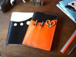 【本革製のレザー文具】ヌメ革レザー A5サブマリン ノートカバー(ノート対応) 日本製 クアトロガッツ
