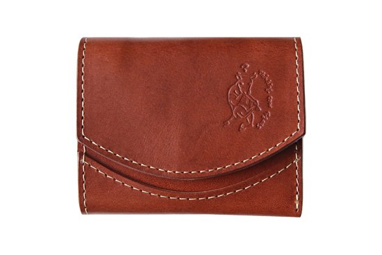 【極小財布・小さい財布】小さいふ。 ペケーニョ chocolate チョコレート 二つ折り 日本製 クアトロガッツ
