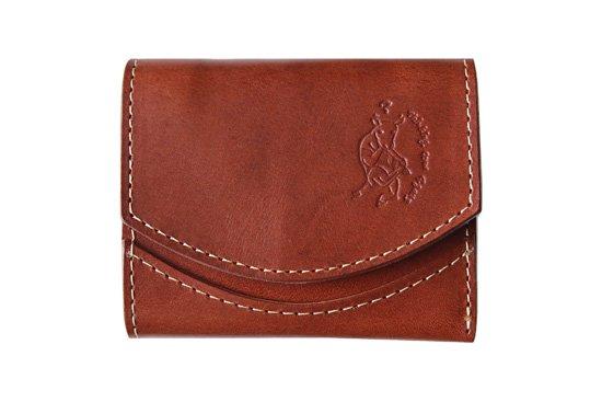小さい財布  小さいふ。栃木レザー定番BASICシリーズ「ペケーニョ chocolate チョコレート」茶