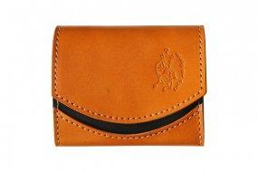 【極小財布・小さい財布】小さいふ。 ペケーニョ caramel キャラメル 日本製 二つ折り クアトロガッツ