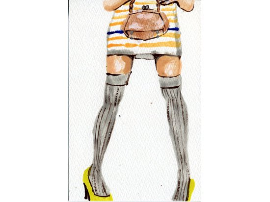 Ree ポストカード 【18】黄色