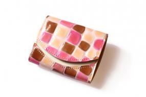 【極小財布・小さい財布】小さいふ。ペケーニョ ステンドグラス【アートシリーズ】クアトロガッツ