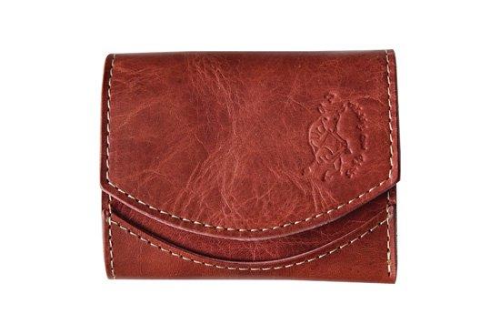 【極小財布・小さい財布】小さいふ。ペケーニョ ボルドーワイン【アートシリーズ】クアトロガッツ