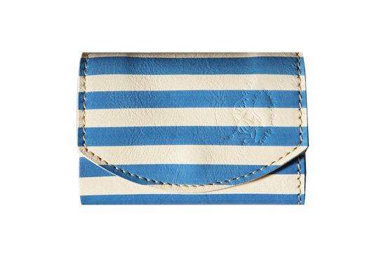 【極小財布・小さい財布】小さいふ。ポキート【picaso青の時代】三つ折り クアトロガッツ