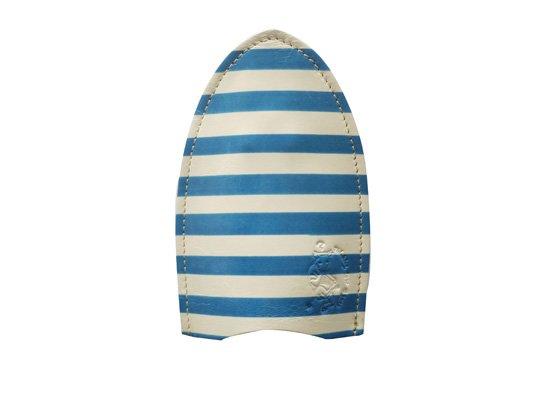 ベルトやカバンの装着できる本革製「ちょっと賢いキーケース ピカソ〜青の時代〜」クアトロガッツ