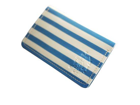 本革製の名刺入れ「ピカソ〜青の時代〜」クアトロガッツ