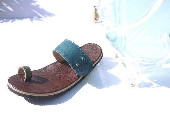 【レザーサンダル】靴職人が創る10年サンダル MARBOK マールボック クアトロガッツ×アトリエグランパ